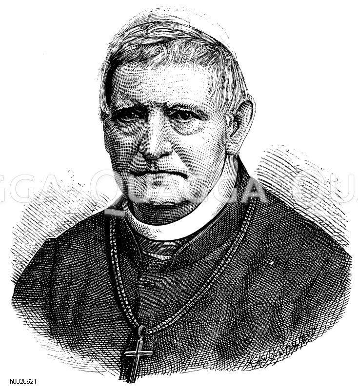 <b>Johann Rudolf</b> Kutschker (geb. 11. April 1810, gest. 27. Januar - h0026621
